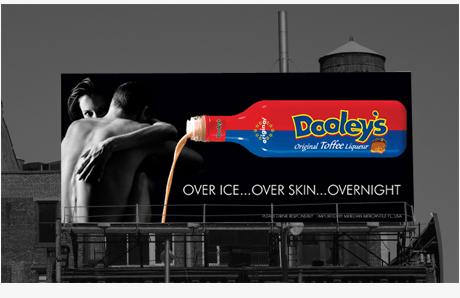 billboard design for Dooleys