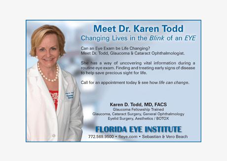 Newpaper Ad for Florida Eye institute