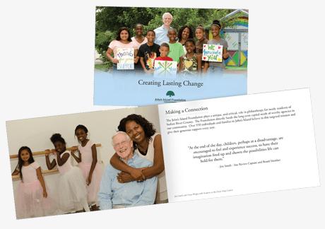 multi page booklet design