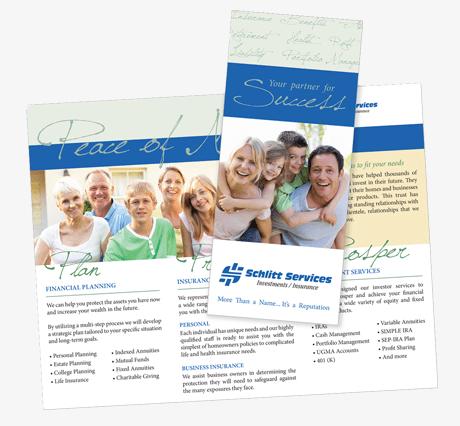 Brochure for Schlitt Services