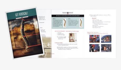 Brochure design sample