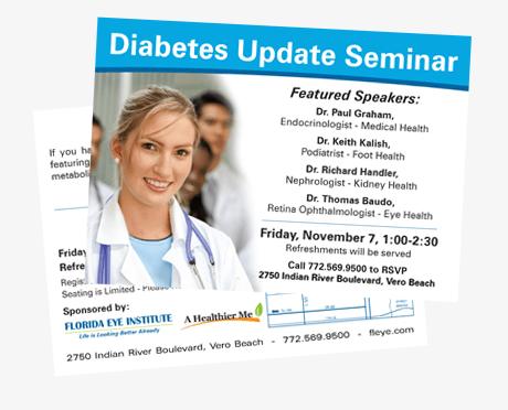 EDDM medical postcard design