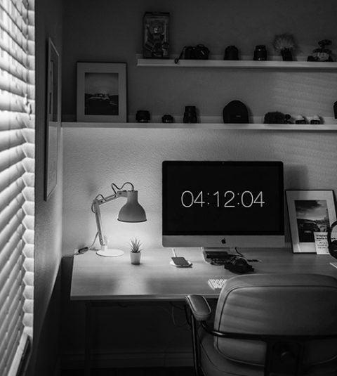 covid 19 remote work space