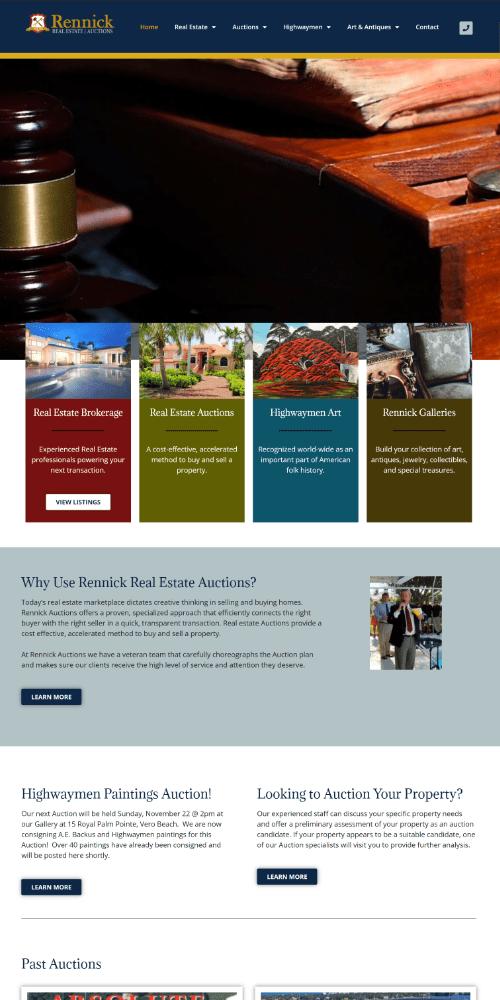 Auction Website Sample