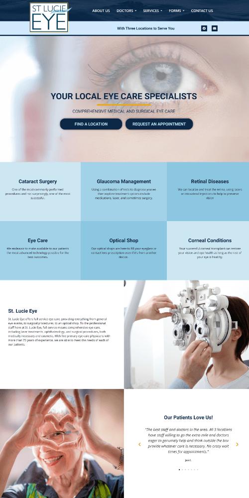 Medical Website Sample